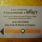 Place de cinéma à 1 euro !