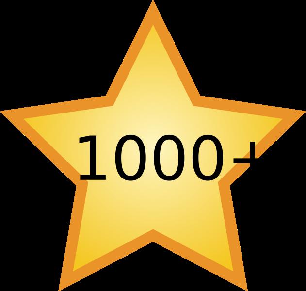 1000 followers follow twitter compte