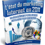 Livre Gratuit:   » l'état du Marketing Internet en 2011 «