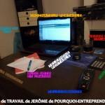 Station de travail #1: Jérôme de Pourquoi Entreprendre ?