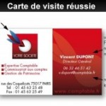 La carte de visite, une arme « marketing » importante !