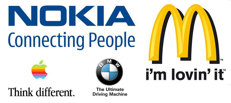 Au delà de la Marque, le slogan est un élément important de la ...: www.action-reussite.net/2012/03/comment-avoir-un-bon-slogan-pour...