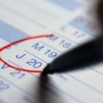 Les Dates clés à ne pas louper