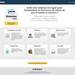 Kooneo, une solution pour automatiser vos ventes sur internet