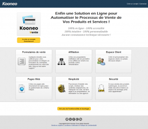 kooneo vente systeme solution paimeent abonnement