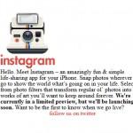 Instagram, le modèle à suivre ?