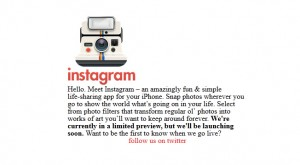instagram modèle start up creation entreprise