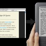 Les articles de blog que vous voulez sur Kindle !