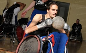 rugby fauteuil equipe france paralytique