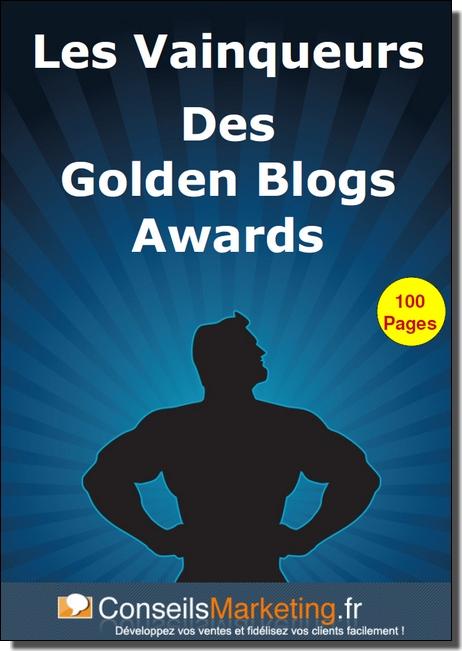 livre secrets vianqueurs golden blog awards frédéric canevet
