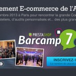 Participez ( GRATUITEMENT ? ) au Prestashop Barcamp #7 !