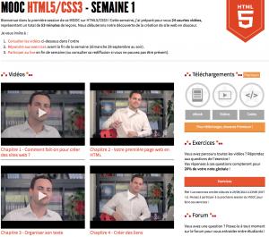MOOC-Apprendre-HTML5-CSS3