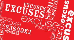excuses blog