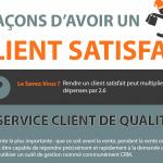 [ Infographie ] Rendre un client satisfait