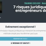 Les 7 risques juridiques des entrepreneurs du web