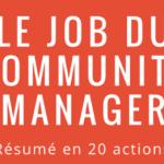[Infographie] Le travail du Community Manager