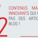 [Infographie] Du Contenu Marketing Innovant