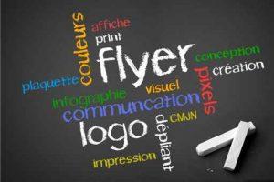communication visibilité flyer