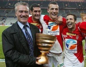 didier deschamps coupe ligue monaco